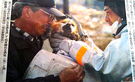 Weeping-man-hugs-rescued-dog-in-reunion