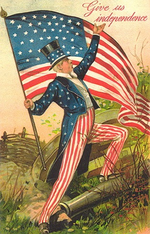 Uncle-sam-4th-of-july-american-flag-vintage-postcard